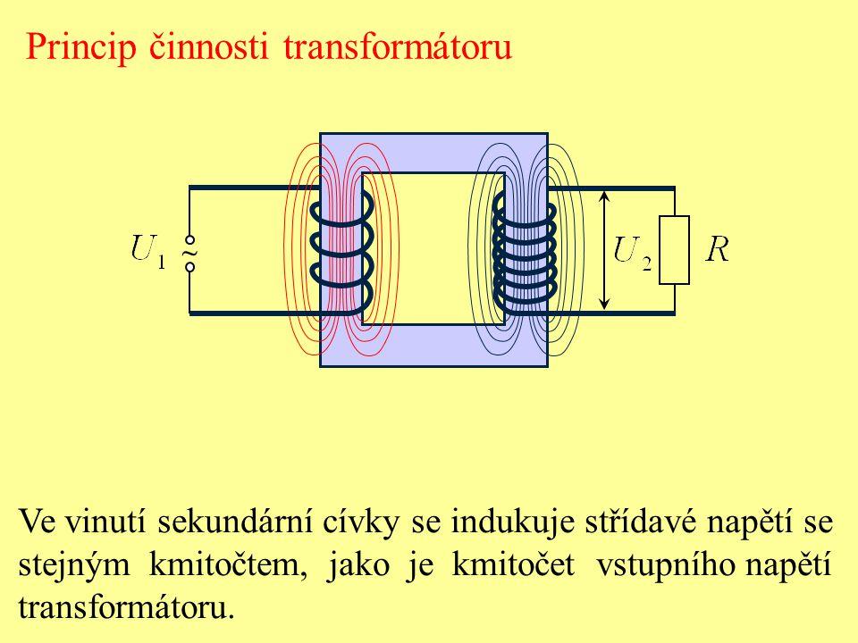 Princip činnosti transformátoru