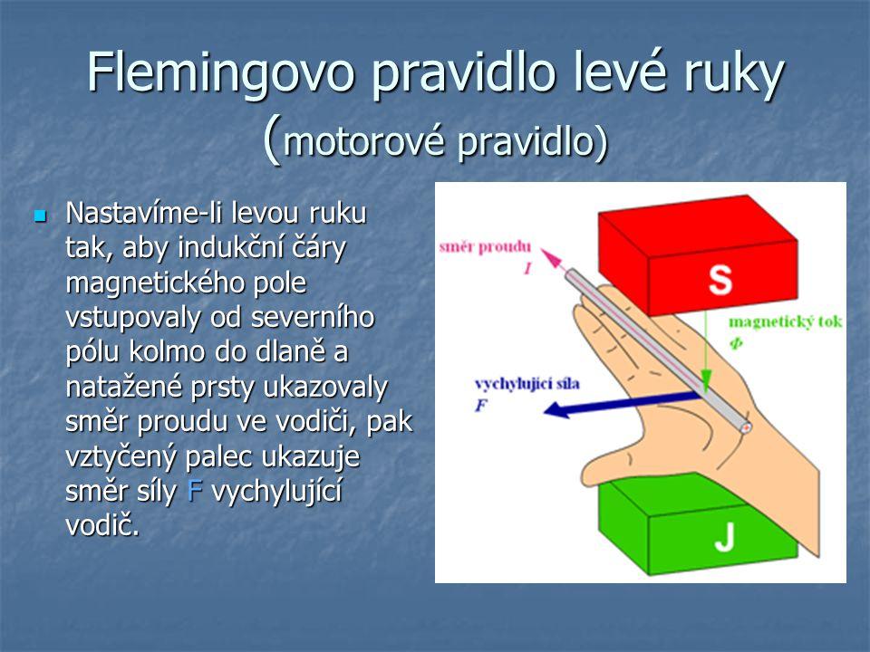 Flemingovo pravidlo levé ruky (motorové pravidlo)