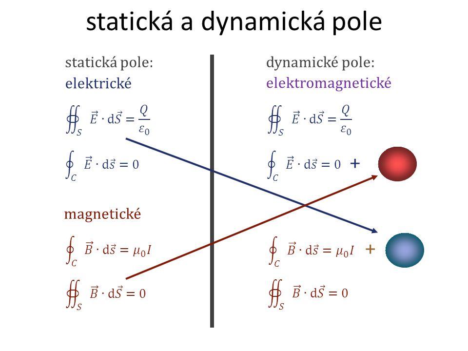 statická a dynamická pole