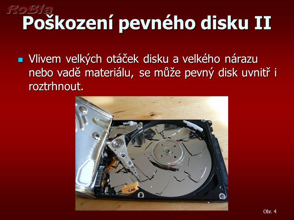 Poškození pevného disku II