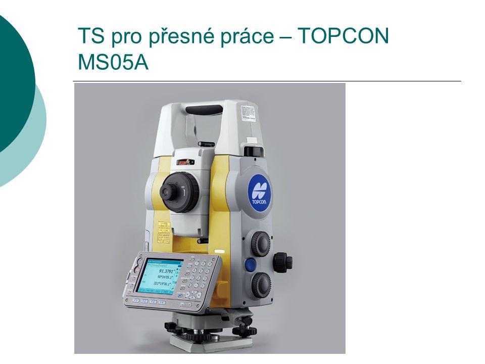 TS pro přesné práce – TOPCON MS05A
