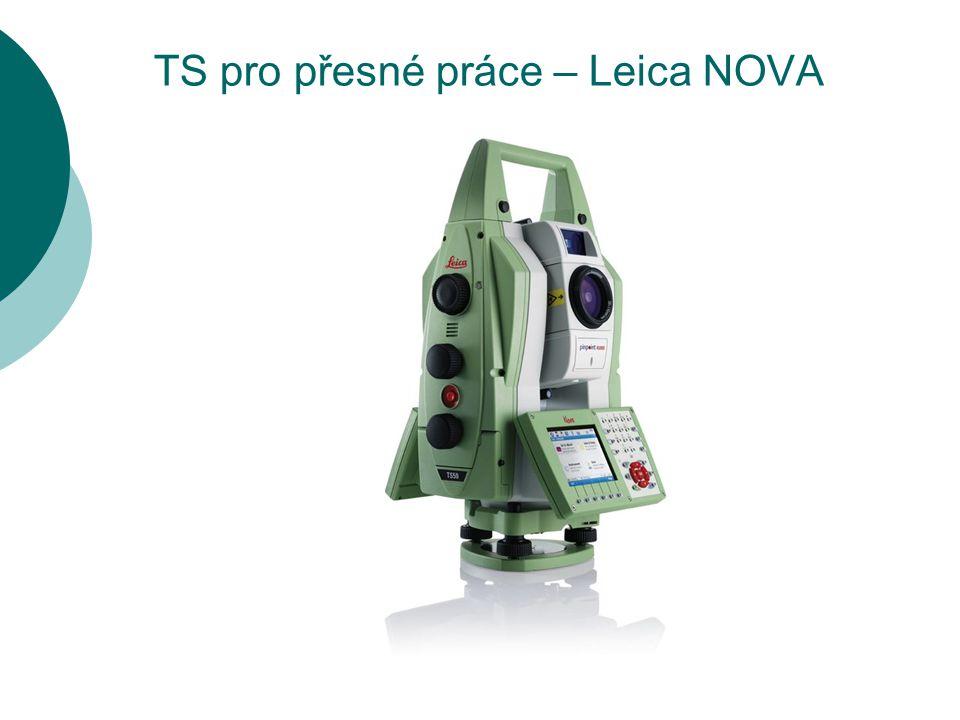 TS pro přesné práce – Leica NOVA TS50