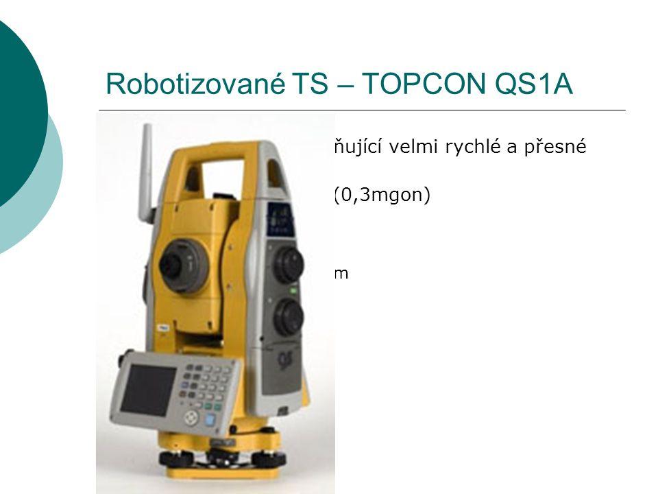 Robotizované TS – TOPCON QS1A