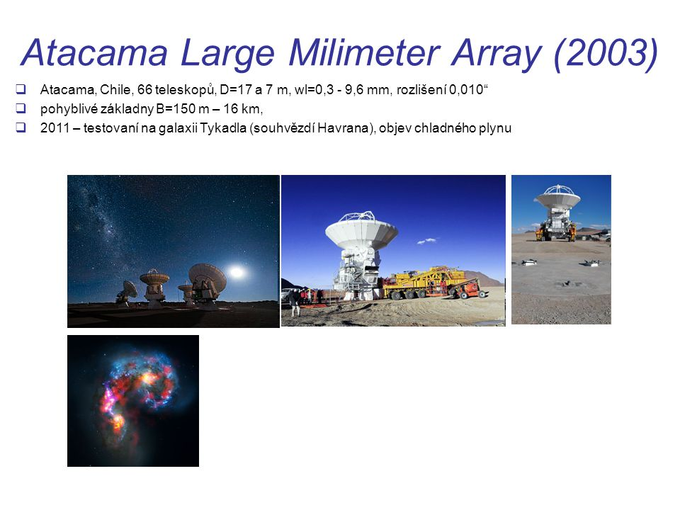 Atacama Large Milimeter Array (2003)