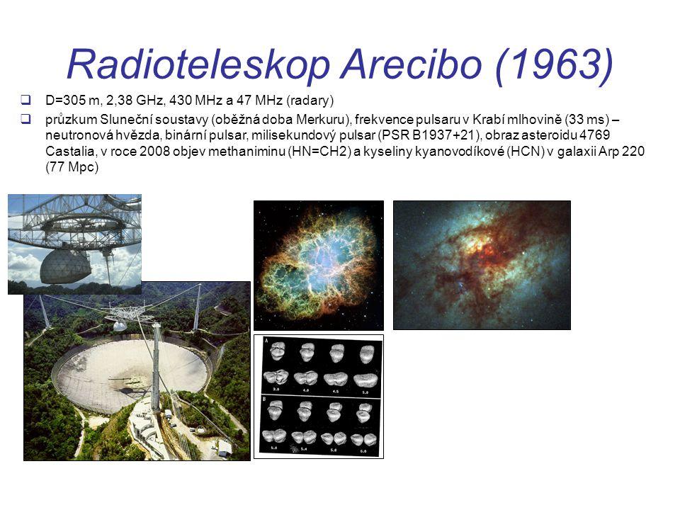 Radioteleskop Arecibo (1963)
