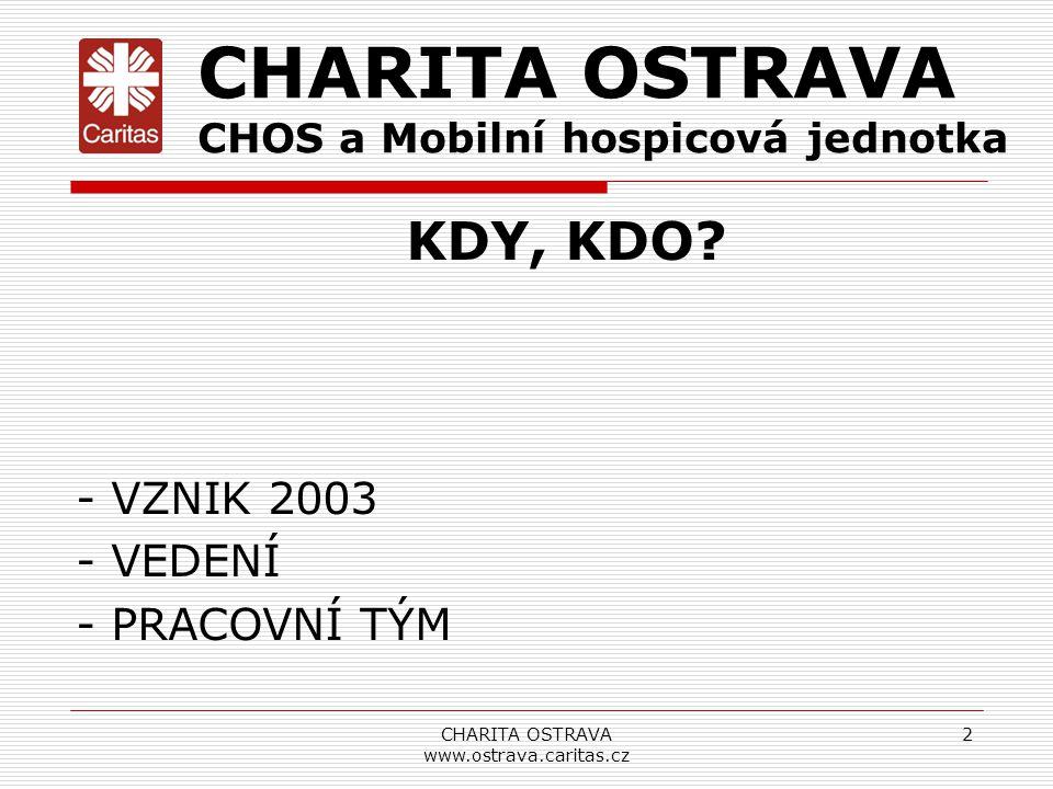 CHARITA OSTRAVA www.ostrava.caritas.cz
