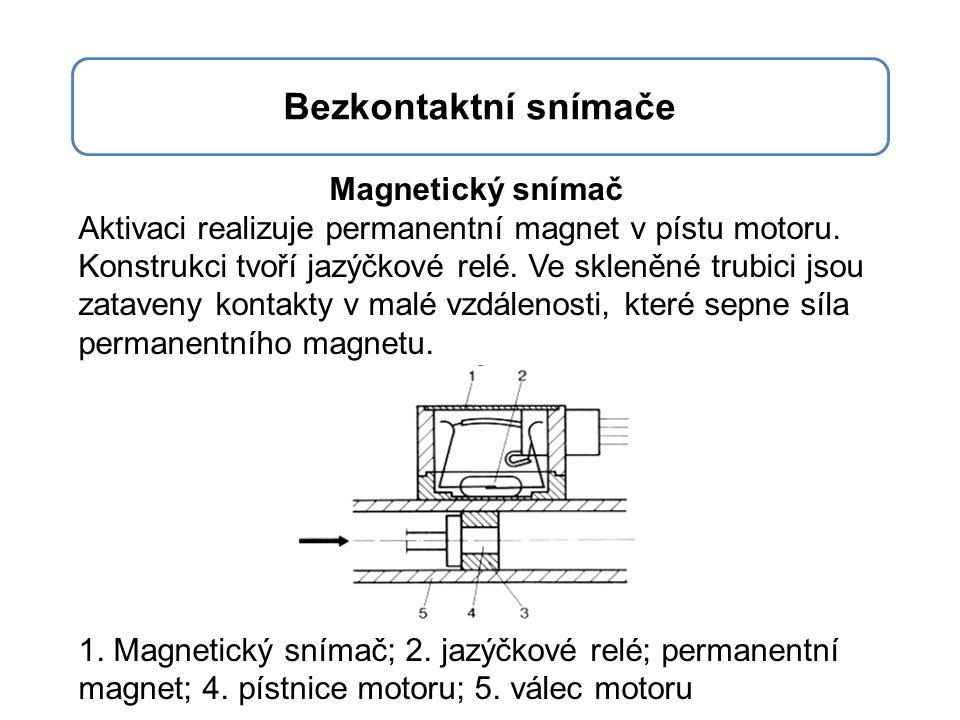 Bezkontaktní snímače Magnetický snímač
