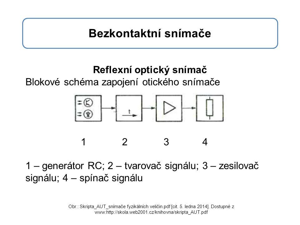 Reflexní optický snímač