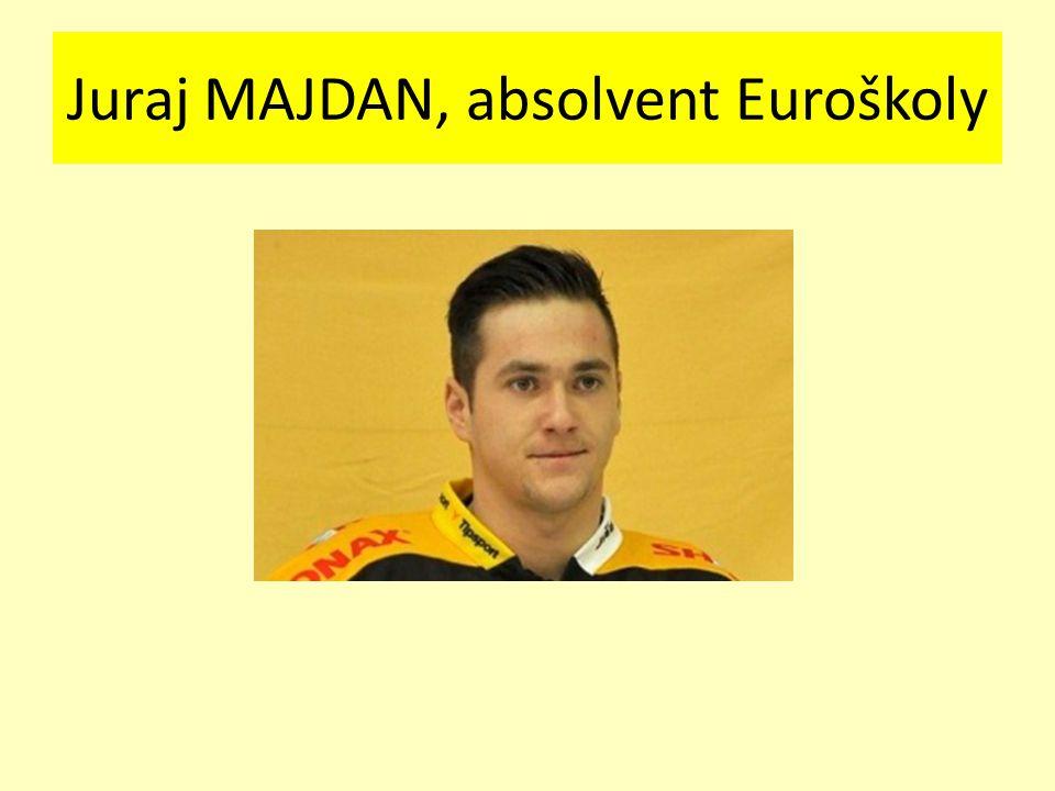 Juraj MAJDAN, absolvent Euroškoly