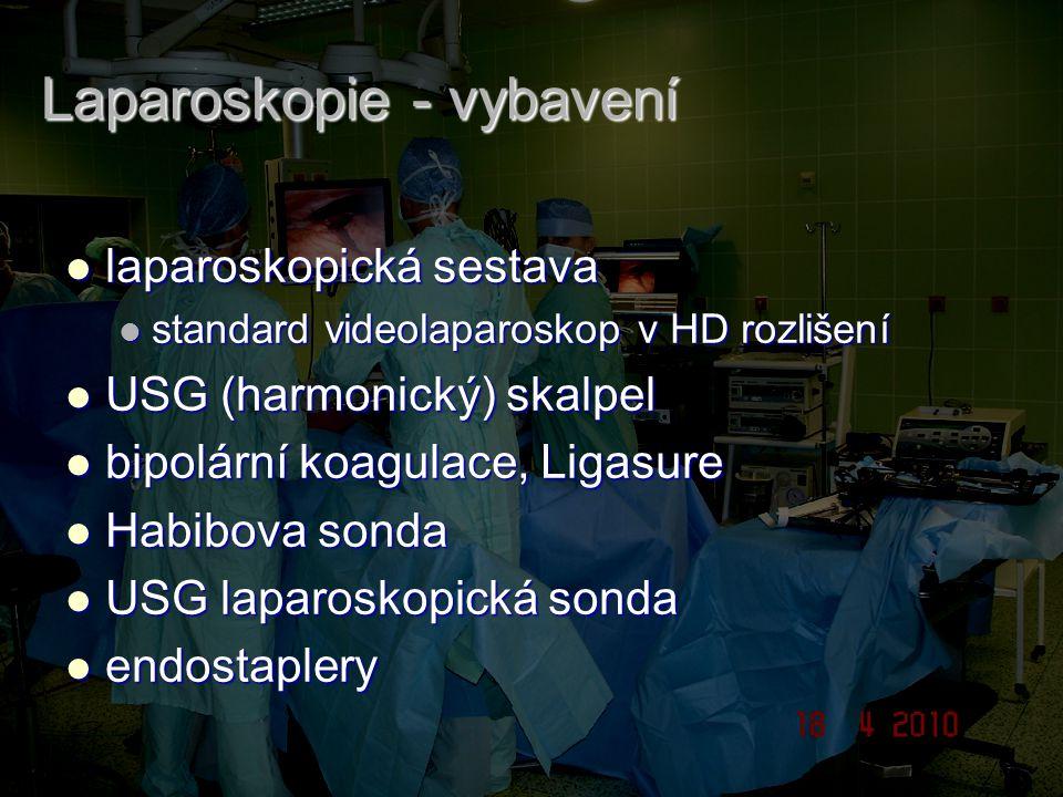 Laparoskopie - vybavení