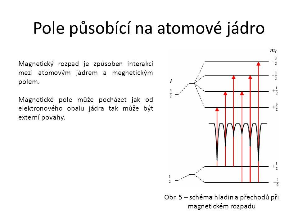 Pole působící na atomové jádro