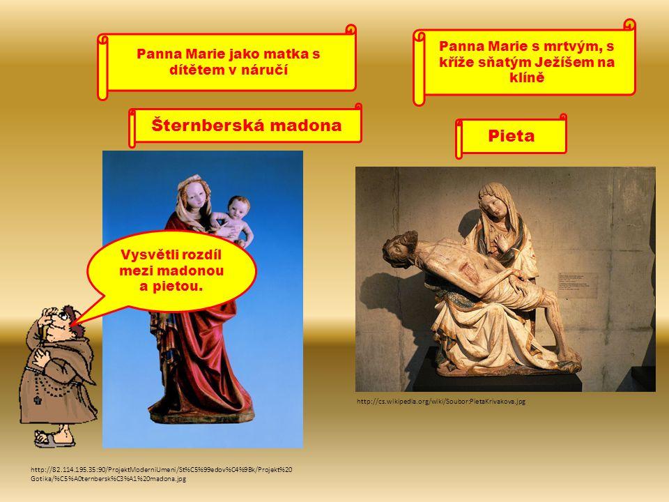 Šternberská madona Pieta