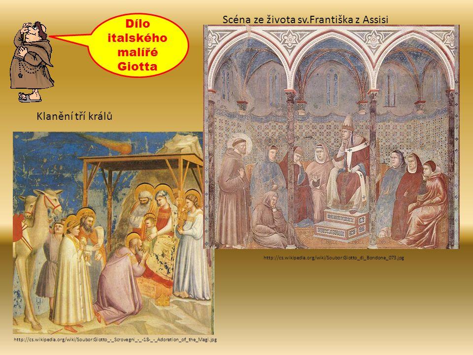 Dílo italského malířé Giotta