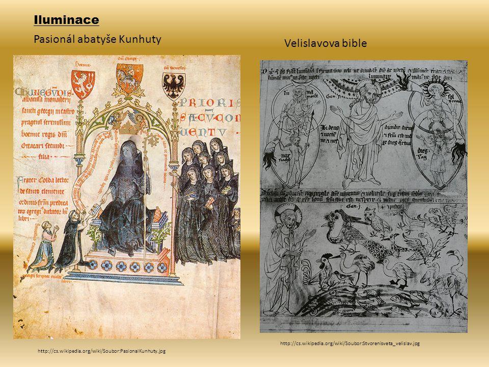 Pasionál abatyše Kunhuty Velislavova bible