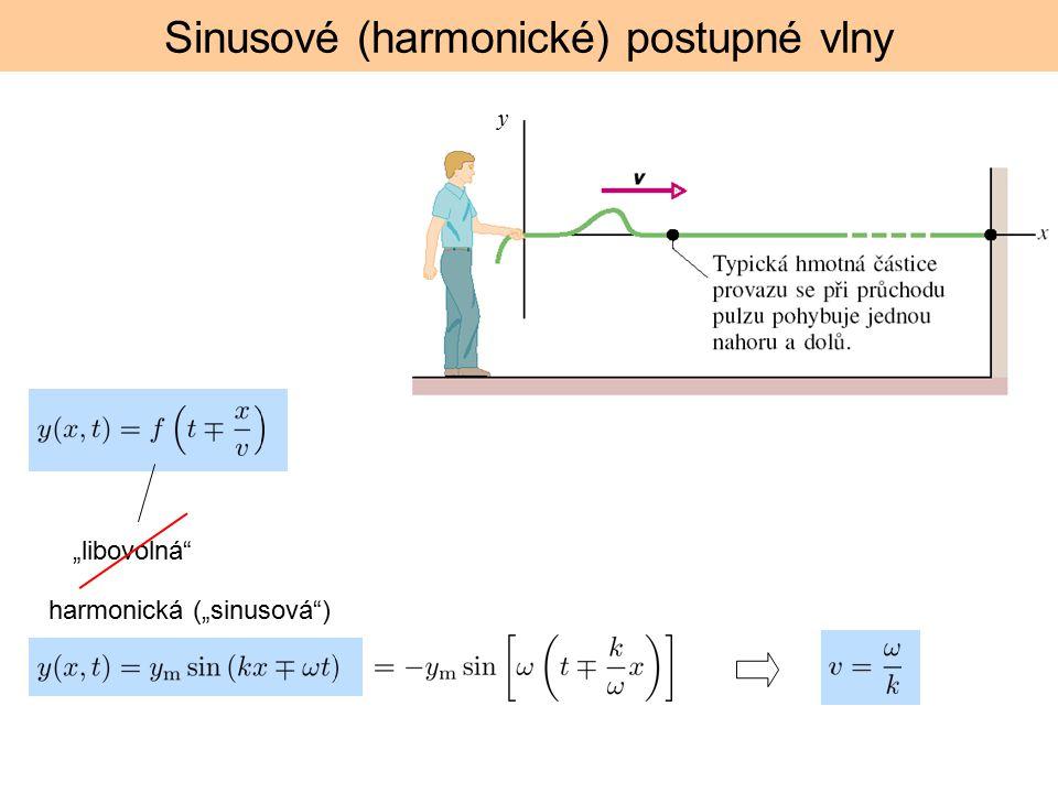 Sinusové (harmonické) postupné vlny