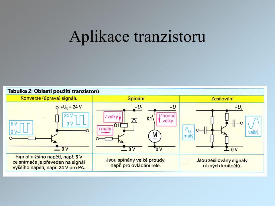 Aplikace tranzistoru