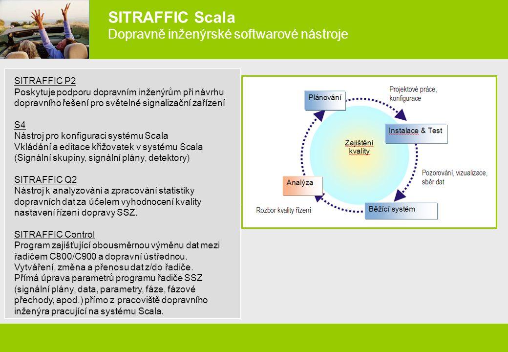 SITRAFFIC Scala Dopravně inženýrské softwarové nástroje
