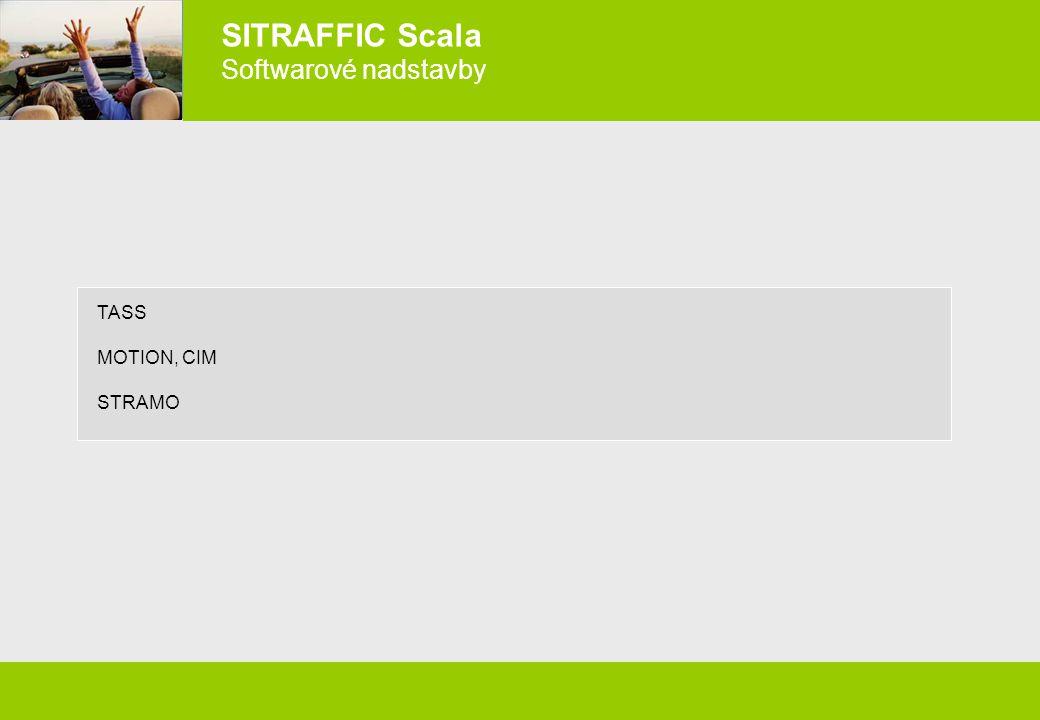 SITRAFFIC Scala Softwarové nadstavby