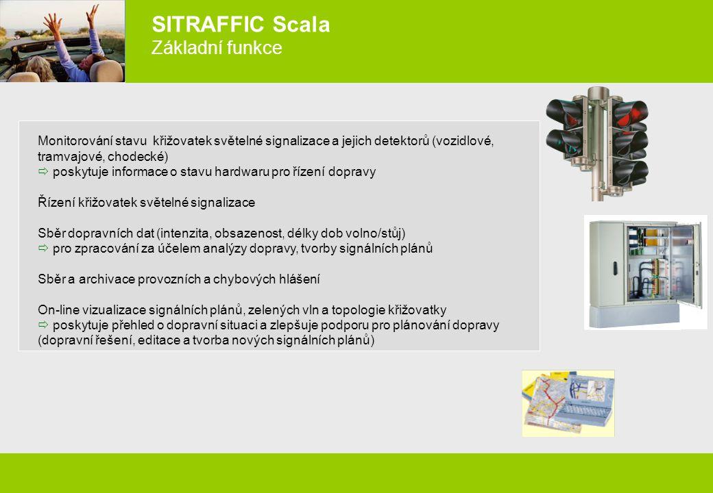 SITRAFFIC Scala Základní funkce