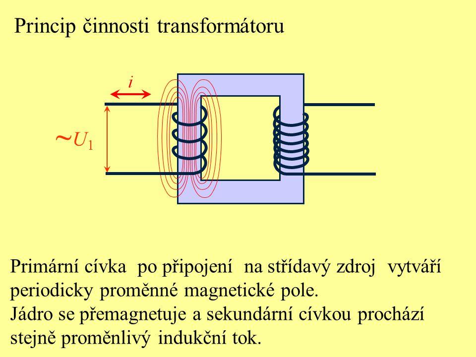 ~U1 Princip činnosti transformátoru