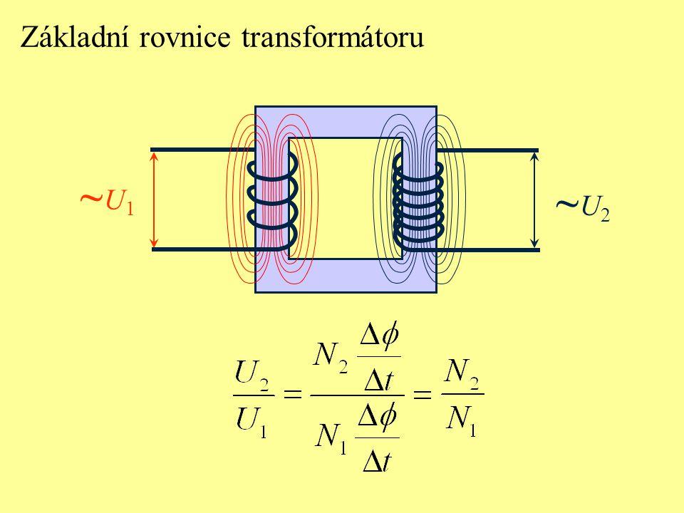 Základní rovnice transformátoru