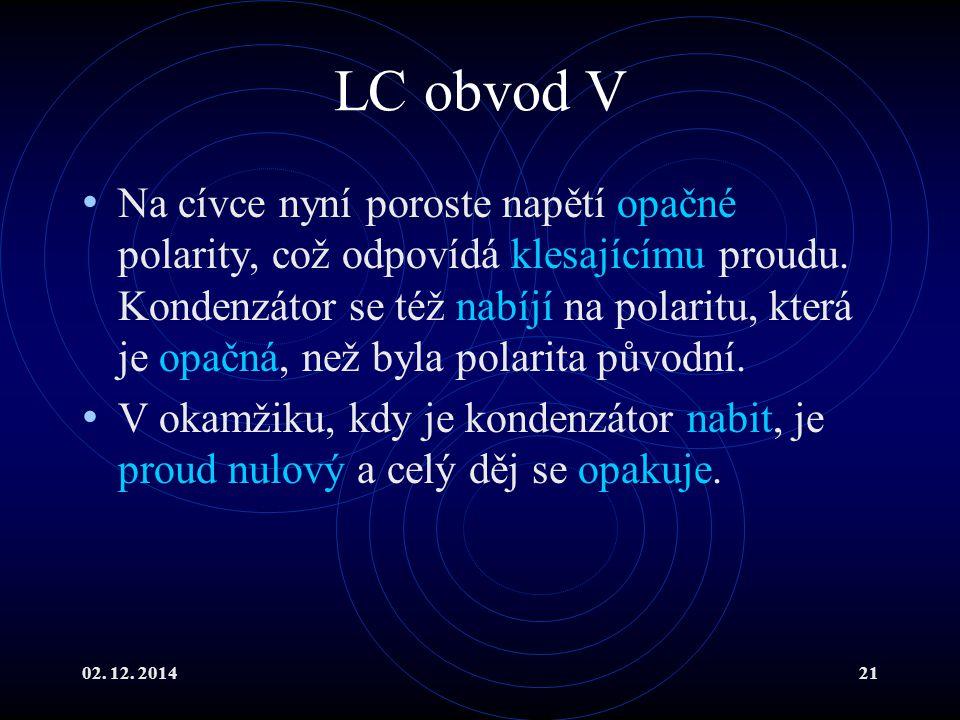 LC obvod V