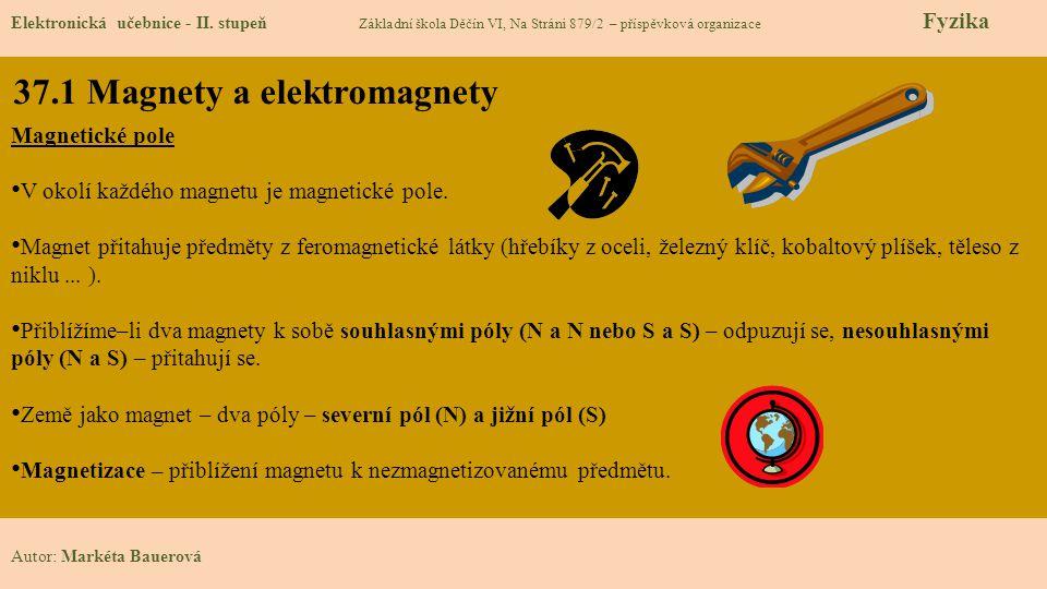 37.1 Magnety a elektromagnety