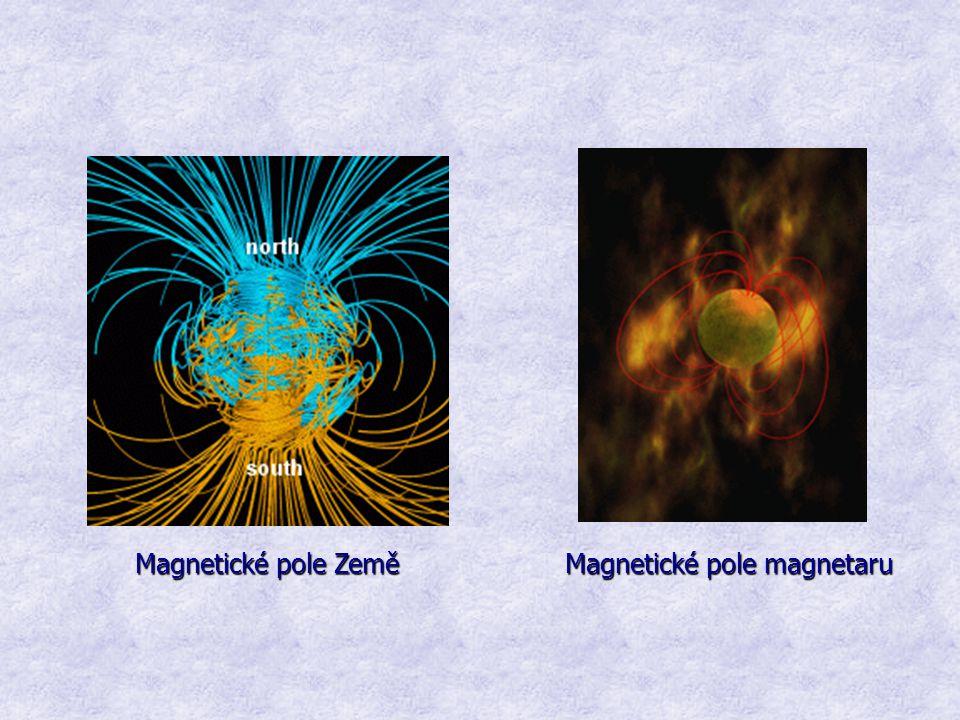 Magnetické pole Země Magnetické pole magnetaru