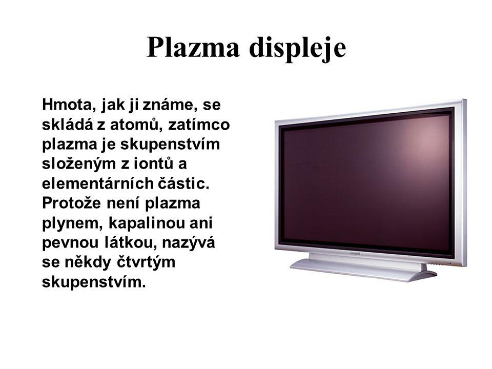 Plazma displeje