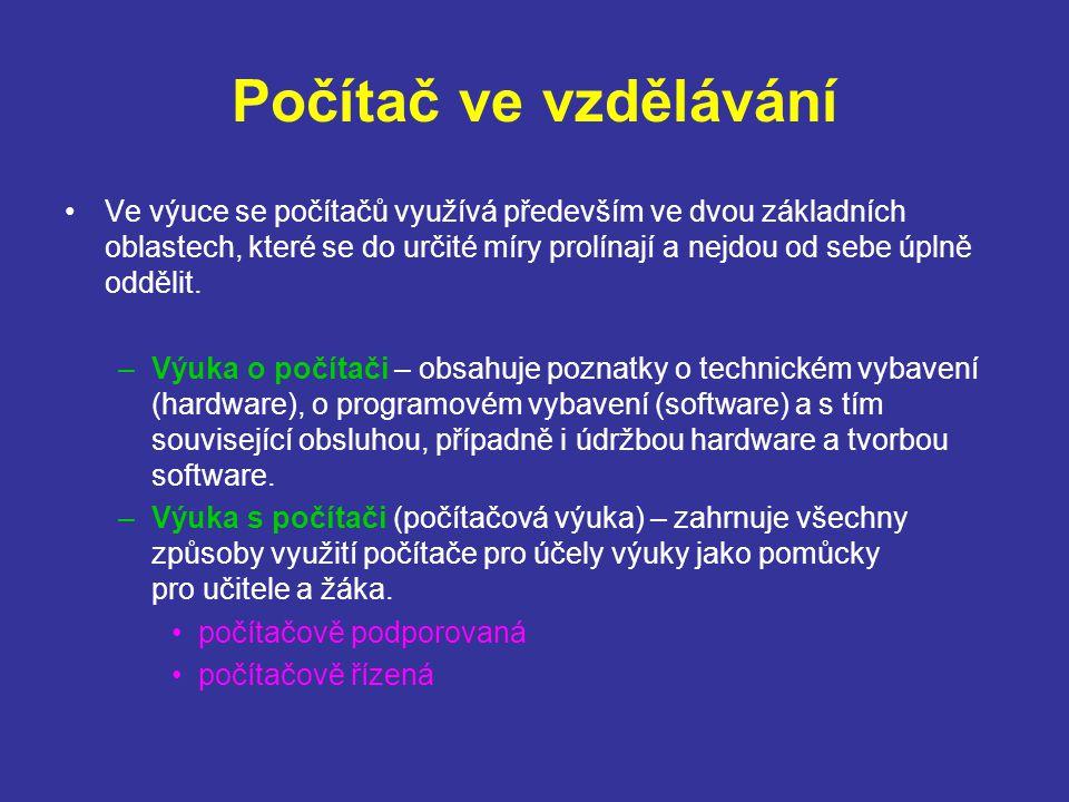 Počítač ve vzdělávání