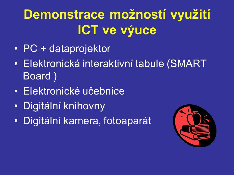 Demonstrace možností využití ICT ve výuce