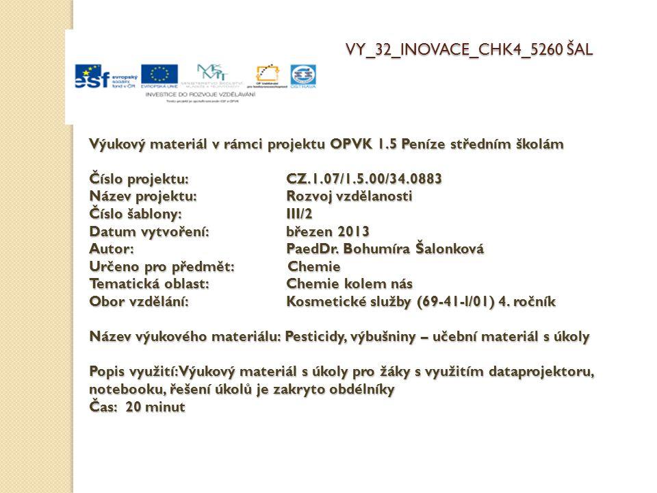 VY_32_INOVACE_CHK4_5260 ŠAL