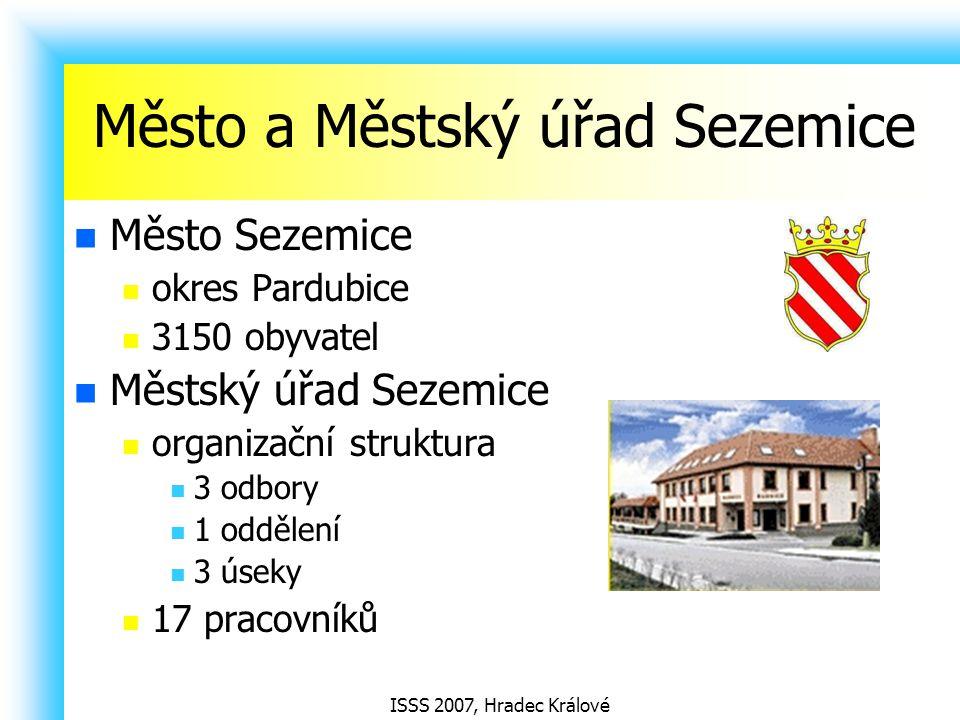 Město a Městský úřad Sezemice