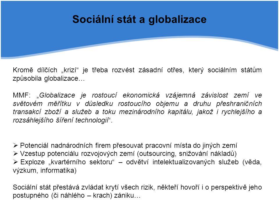 Sociální stát a globalizace