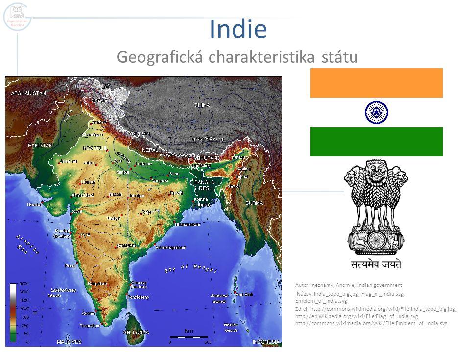 Geografická charakteristika státu