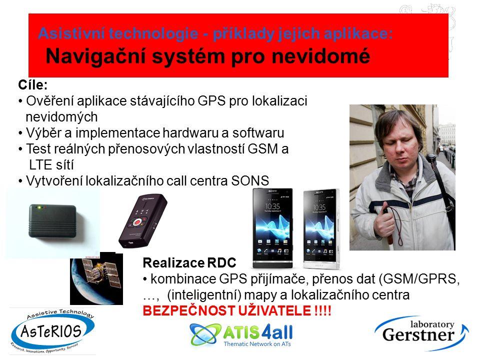 Asistivní technologie - příklady jejich aplikace: Navigační systém pro nevidomé