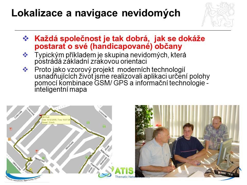 Lokalizace a navigace nevidomých