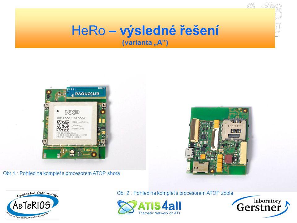 "HeRo – výsledné řešení (varianta ""A )"
