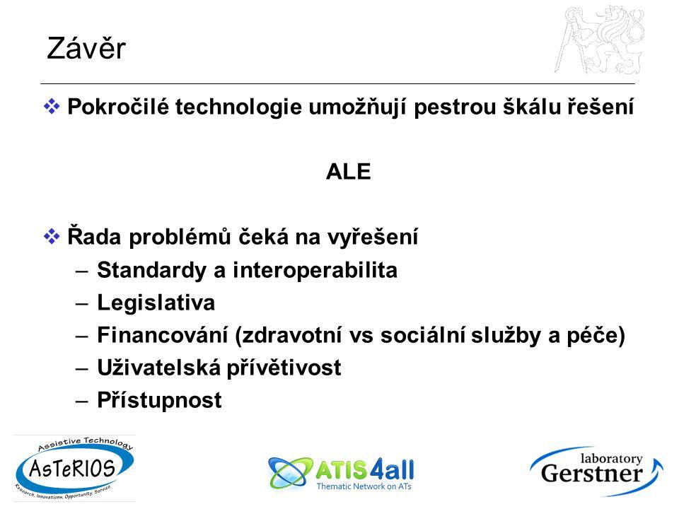 Závěr Pokročilé technologie umožňují pestrou škálu řešení ALE