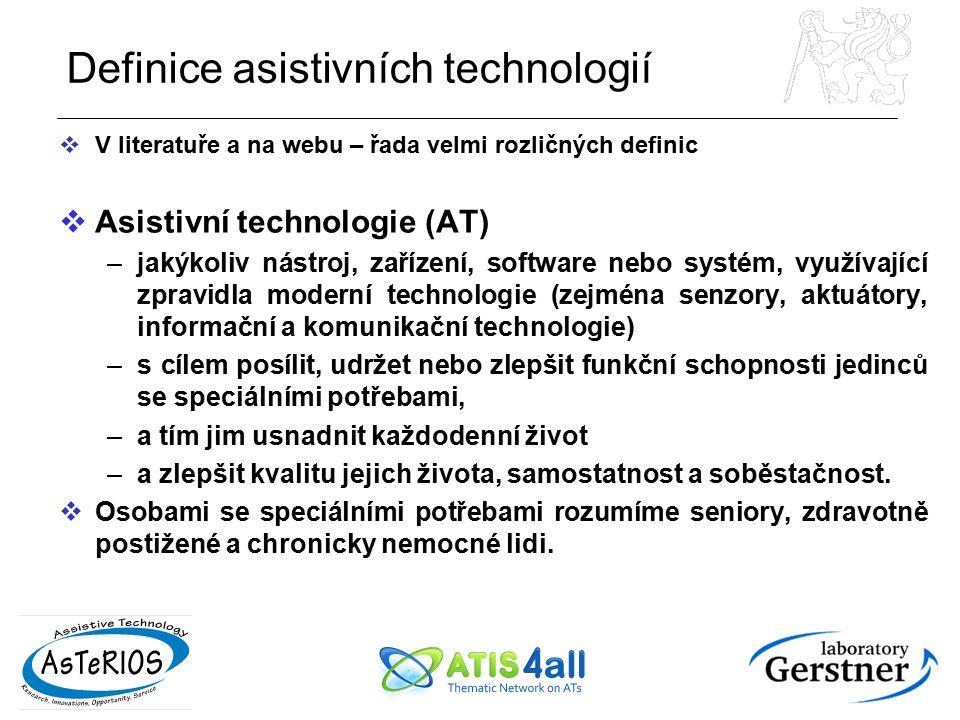 Definice asistivních technologií