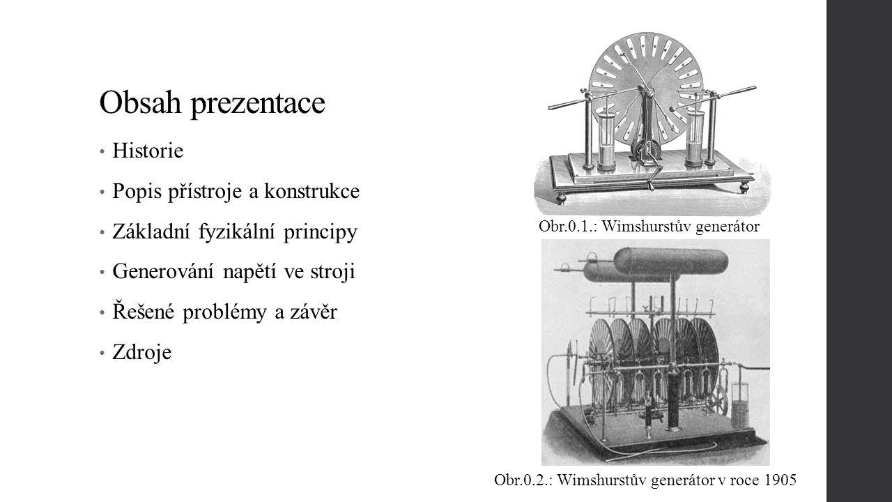 Obsah prezentace Historie Popis přístroje a konstrukce