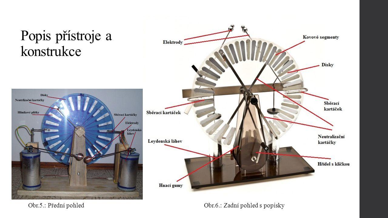 Popis přístroje a konstrukce