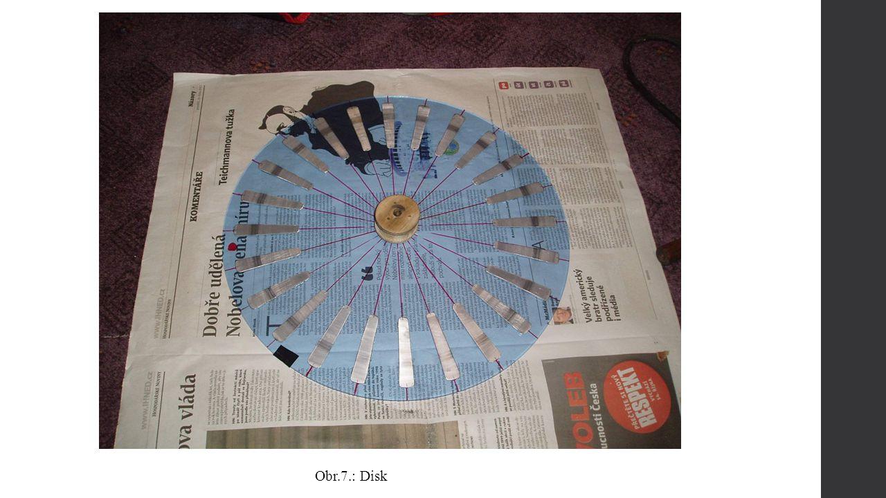 Obr.7.: Disk
