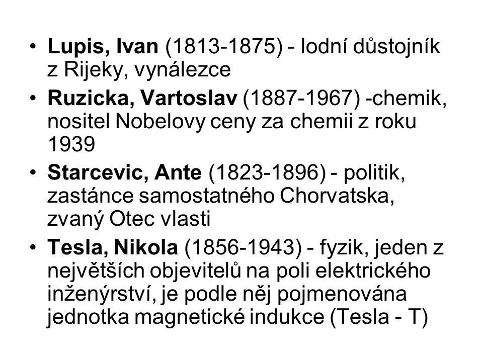 Lupis, Ivan (1813-1875) - lodní důstojník z Rijeky, vynálezce