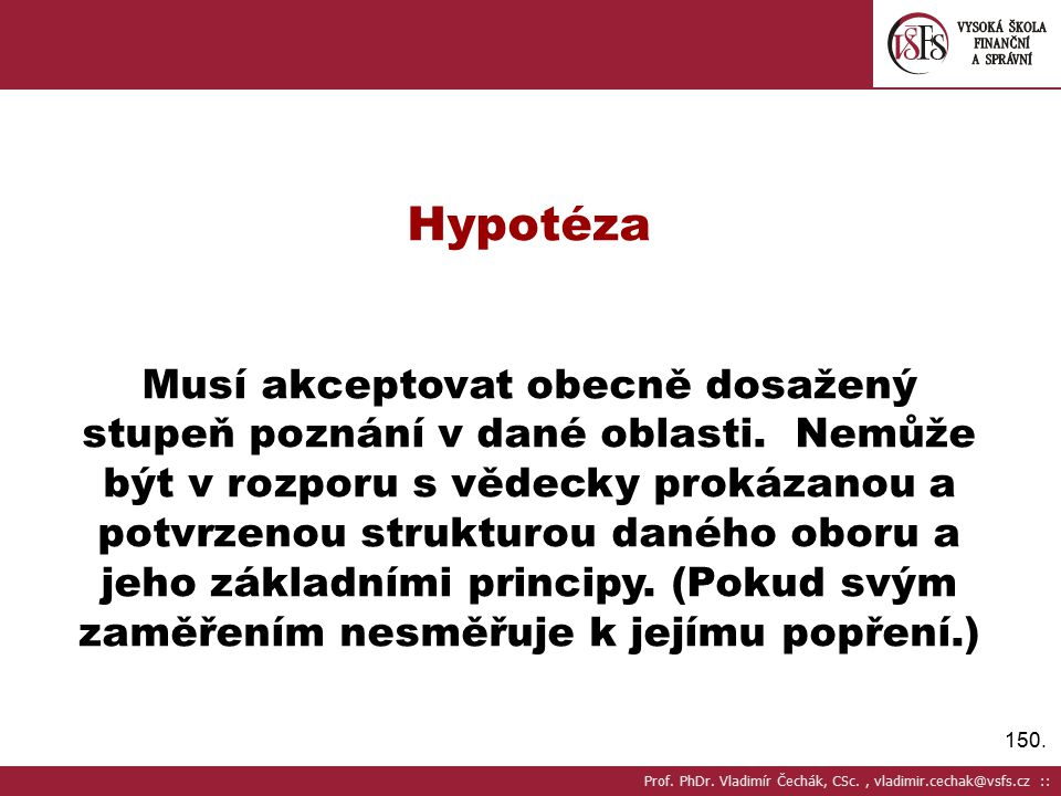 Hypotéza