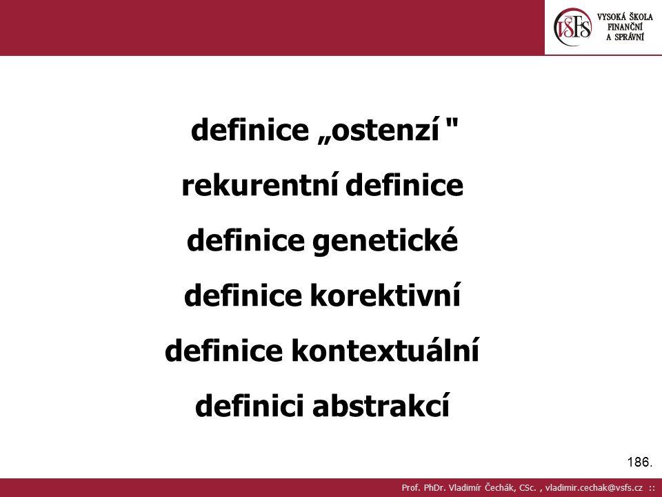 definice kontextuální