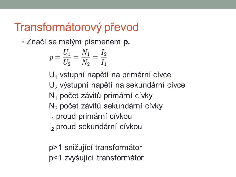 Transformátorový převod
