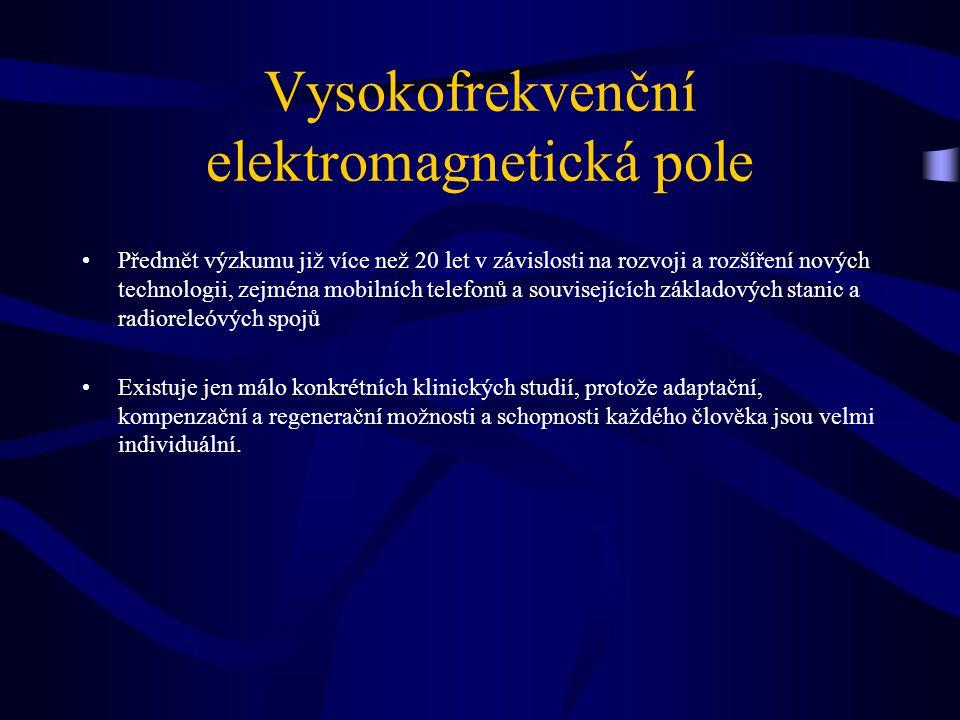 Vysokofrekvenční elektromagnetická pole