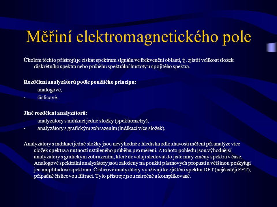 Měřiní elektromagnetického pole