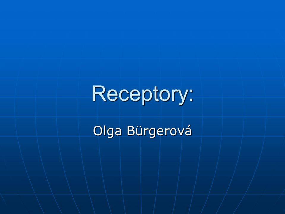 Receptory: Olga Bürgerová